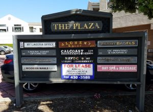 The Plaza Shopping Center Laguna Beach Ca